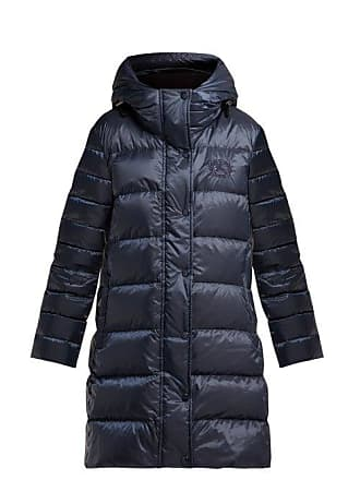 5e2f2ca79 Burberry Kington Hooded Quilted Down Coat - Womens - Navy