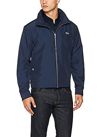 fe5f751caa Lacoste Blouson Homme - Bleu (Marine) - XXX -Small (Taille Fabricant :