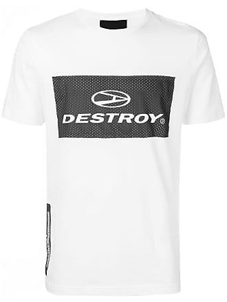 John Richmond Camiseta Destroy - Branco