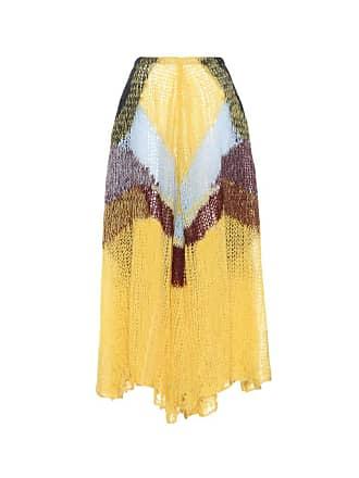 Jil Sander Mohair-blend skirt