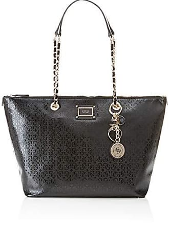 899adce6a Guess Shannon Tote, Mujer, Negro (Nero), 44x27x15 cm (W x