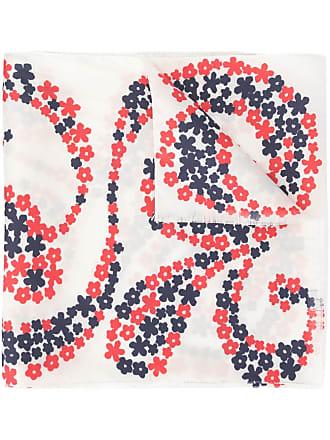 JEJIA floral print scarf - Branco