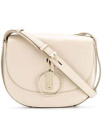 Nina Ricci disc buckle rounded shoulder bag - Neutro