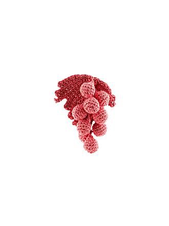 Rosie Assoulin Brincos de crochê - Rosa