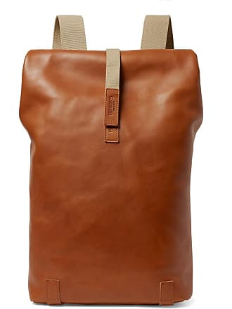 Brooks England Pickwick Large Leather Backpack - Tan