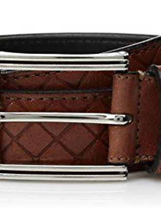 NWT Men/'s Full Grain Embossed Croco Leather Belt Big /& Tall,Brown