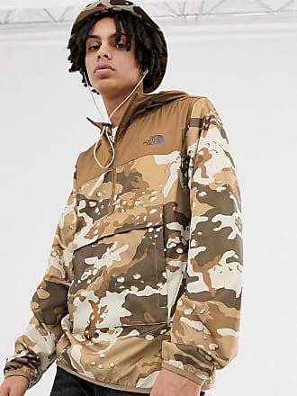 edc2b7039f The North Face Novelty - Veste Fanorak motif camouflage - Moab - Marron