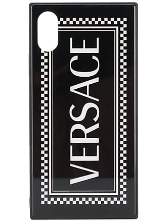 Versace Capa para iPhone X - Preto