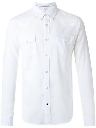 Osklen Camisa com bolsos - Branco