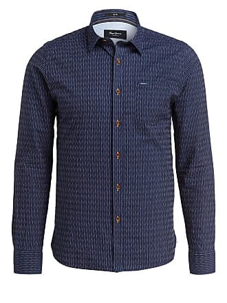 Pepe Jeans Chesterfield Hemd blauweiß gestreift | dress for