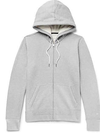 Rag & Bone Standard Issue Mélange Loopback Cotton-jersey Hoodie - Gray