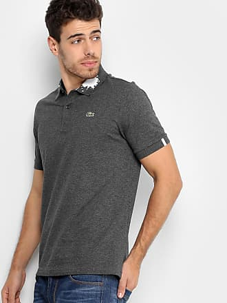 Lacoste L!ve Camisa Polo Lacoste Piquet com Tinta Masculina - Masculino d82922fcf54b4