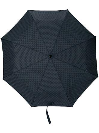 Emporio Armani logo print umbrella - Blue