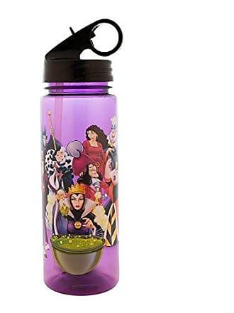 Disney Silver Buffalo DV6664 Disneys Large Villains Cauldron Tritan Water Bottle, 20 oz, Multicolor