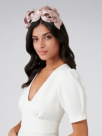 Forever New Sammy Structural Flower Fascinator - White - 00