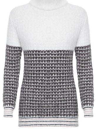 TWENTY FOUR SEVEN Blusa Tricot bicolor Twenty Four Seven - Off White