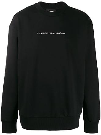 Diesel embroidered logo sweatshirt - Black
