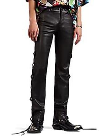 9b8878eb7a9a Balenciaga Mens Embellished Grained Moto Skinny Jeans - Black Size 50 EU