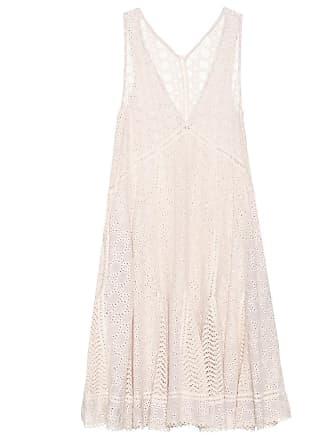 Jonathan Simkhai Embroidered sleeveless dress