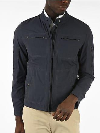 Fay Cotton and Nylon Biker Jacket Größe L