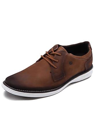 Pegada Sapato Social Couro Pegada Envelhecido Marrom