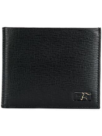 Salvatore Ferragamo foldover logo wallet - Black