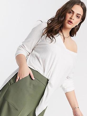 Asos Curve ASOS DESIGN Curve tailored clean culotte-Green