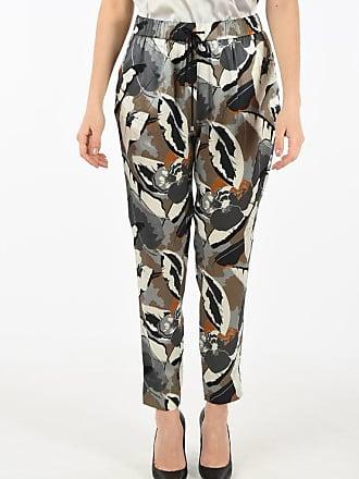 Fabiana Filippi silk floral-print pants size 42