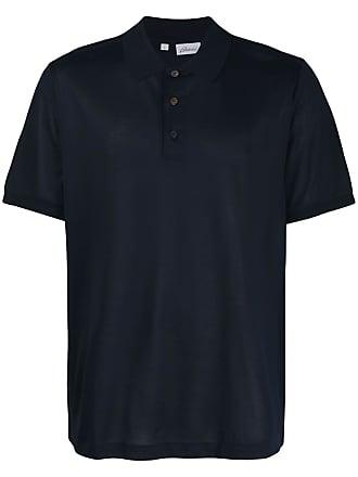 Brioni Camisa polo mangas curtas - Azul