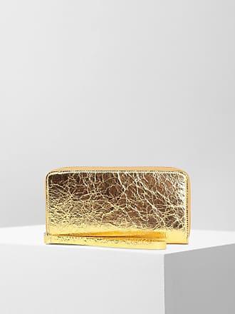 Maison Margiela Mm6 By Maison Margiela Wallet Gold Ovine Leather