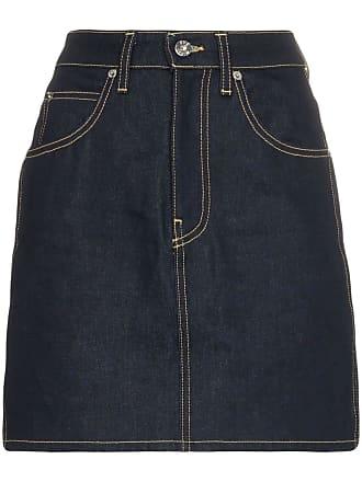 Eve Denim Minissaia jeans - Azul