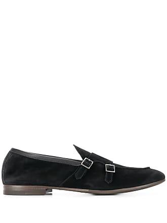 Henderson Baracco buckle detail loafers - Preto