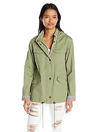Roxy Juniors Sultanis Military Jacket, Oil Green M