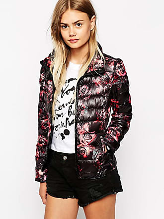 Only Padded Floral Jacket-Multi