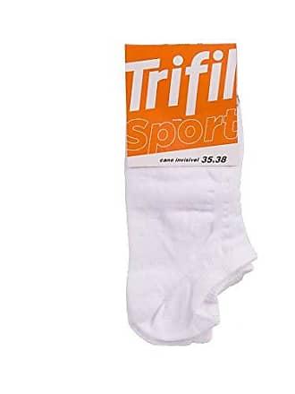 Trifil Meia Trifil Sport Invisível Branco 39-43