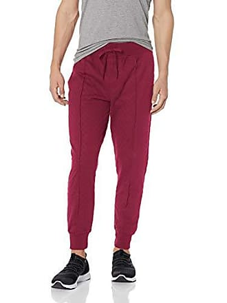 2(x)ist Mens Quilted Textured Lounge Pant Pants, Tawny Port, X-Large