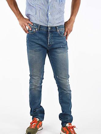 Valentino Stonewashed VLTN Skinny Fit Jeans 17cm size 29