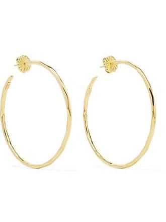 Ippolita Classico Bastille 18-karat Gold Hoop Earrings