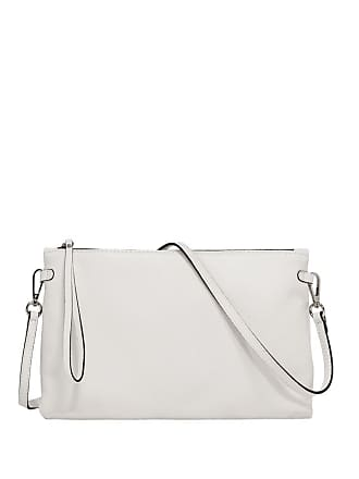 Gianni Chiarini hermy large white clutch bag