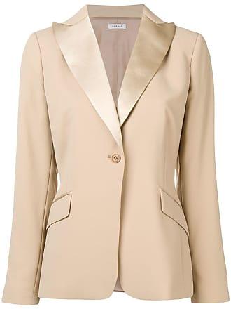 P.A.R.O.S.H. one-button blazer - Neutrals
