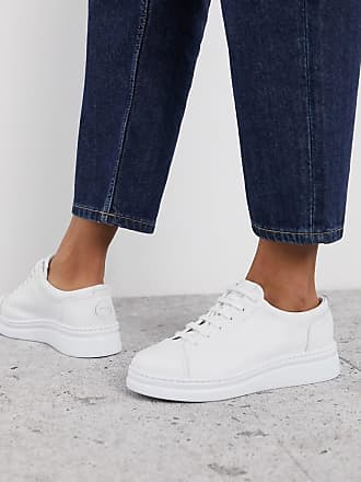 Camper Runner Up trainer in white leather