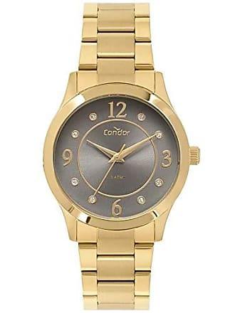 Condor Relógio Condor Feminino Ref: Co2036kvb/k4c Dourado + Bracelete
