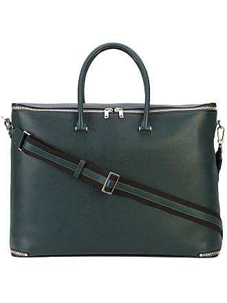 Valextra structured holdall - Green