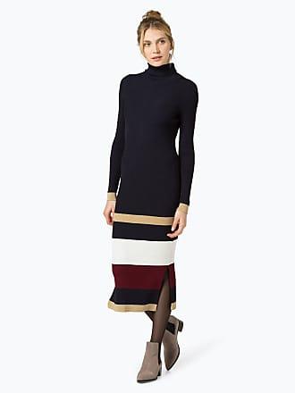 8030c2a20f3789 Tommy Hilfiger Damen Kleid - Tommy Icons Stripe Dress blau