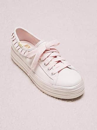 Kate Spade New York Keds X Kate Spade New York Ruffle Youth Sneakers, Pink