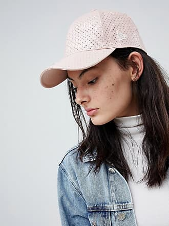 New Era 9Forty - Perforierte Kappe aus PU in Rosa