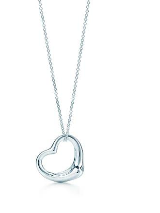 a82884549 Tiffany & Co. Elsa Peretti Open Heart pendant in sterling silver - Size 27  mm