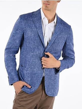 Corneliani ID giacca a 2 bottoni in lino fil à fil taglia 50