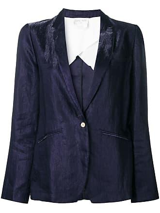 Forte_Forte creased blazer - Blue