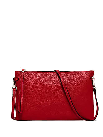 Gianni Chiarini hermy large red clutch bag